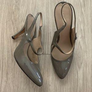 Via Spiga Maryjane Slingback Heels 9.5 M Patent